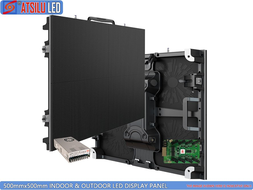 Outdoor 500mmx500mm Indoor LED Display Panel