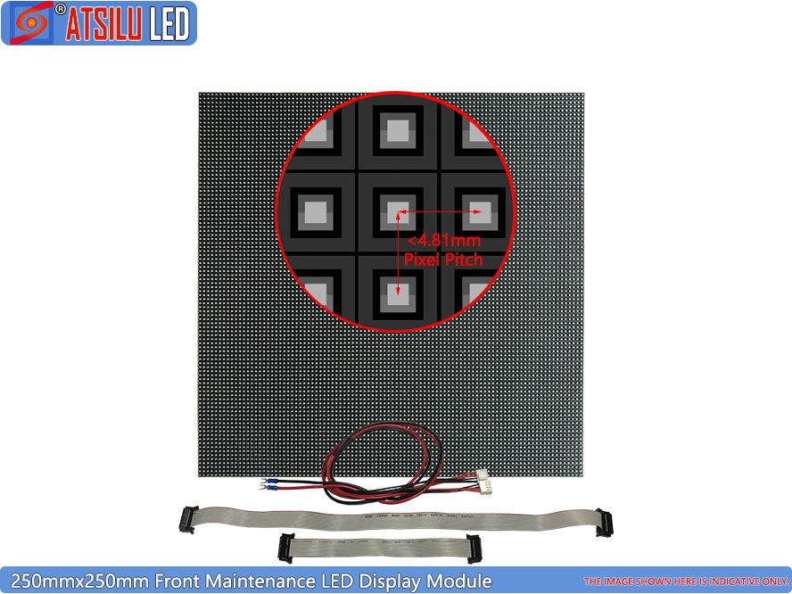 Outdoor Front Maintenance LED Display LED Module