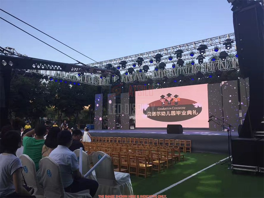 Outdoor High-Definition LED Display Video Wall P2.9mm P3mm Waterproof High Brightness LED Screen