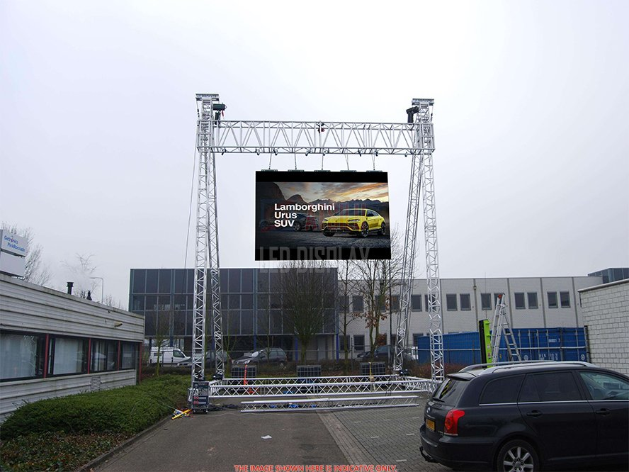 Outdoor Popular Rental LED Display P2.97mm P3.91mm P4.81mm Seamless LED Display Wall Screen