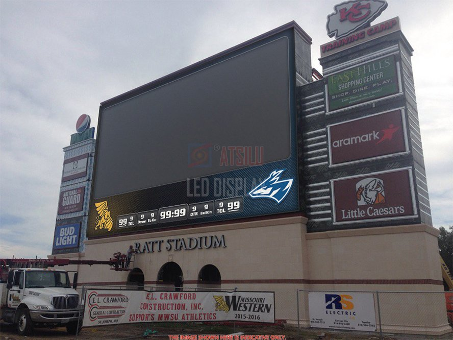Outdoor Popular Selling Advertising LED Display P8mm P10mm IP65 Fixed LED Billboard Display