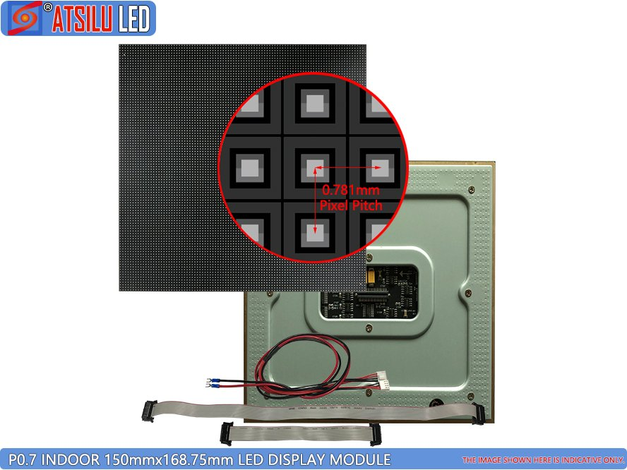 P0.7mm Small Pixel Pitch LED Display Module