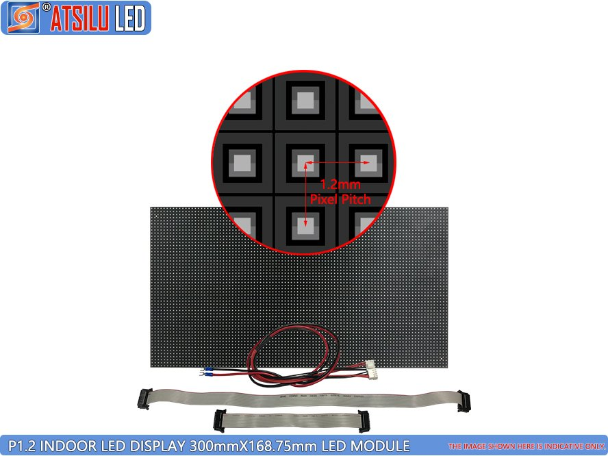 P1.2mm Indoor Small Pixel Pitch LED-display LED-module
