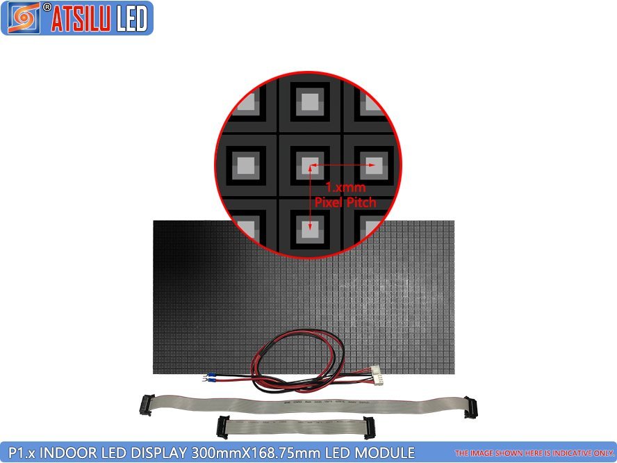 P1.xmm 4-en-1 Lámpara LED Módulo de pantalla LED interior 01