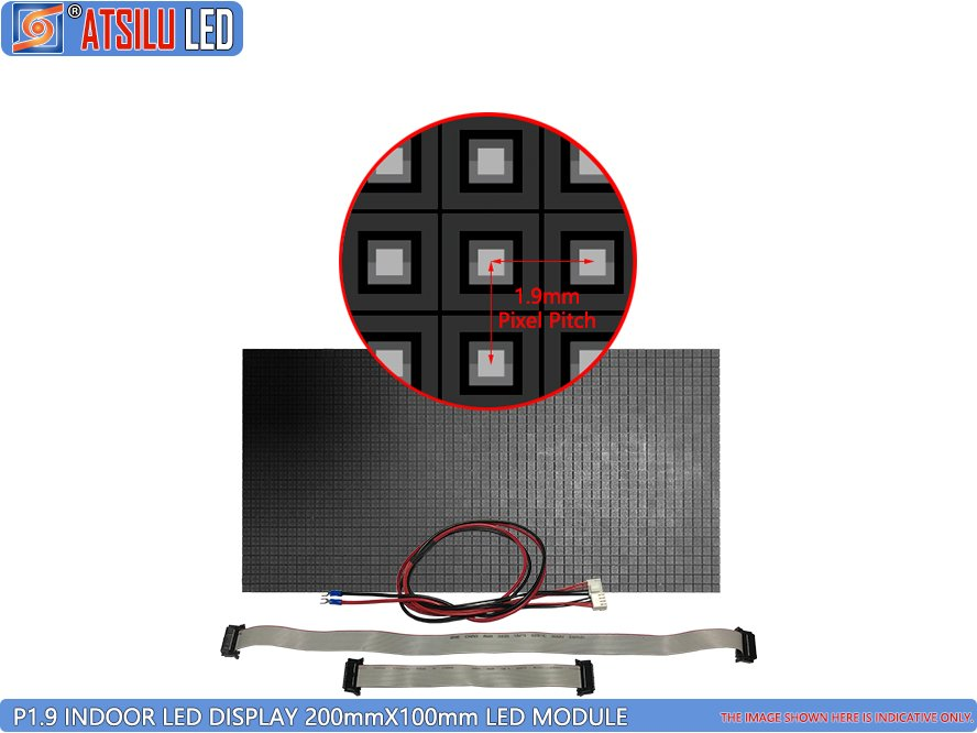 P1.9mm 4-in-1 Indoor LED Wall Screen Video Wall Display Module