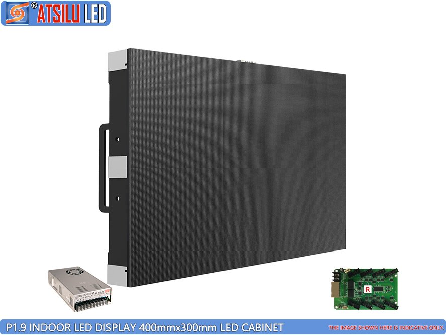 P1.9mm 4-in-1 Indoor LED Wall Screen Video Wall Display Cabinet