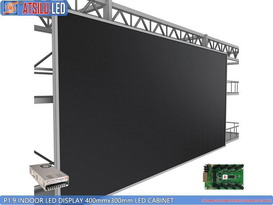 P1.9mm 4-in-1 Indoor LED Wall Screen Video Wall Display Video Wall
