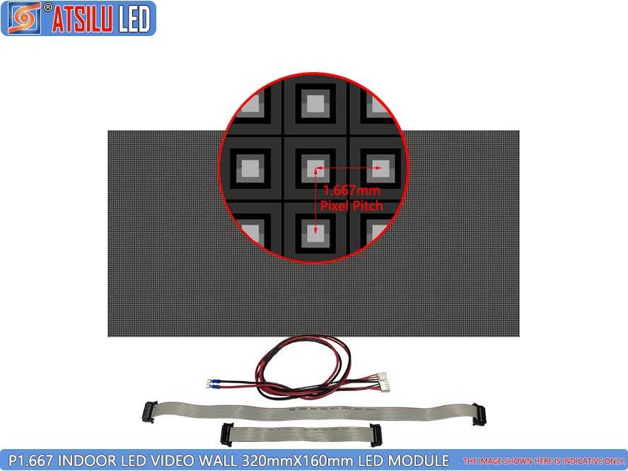 P1.667mm Indoor LED Video Wall LED-module