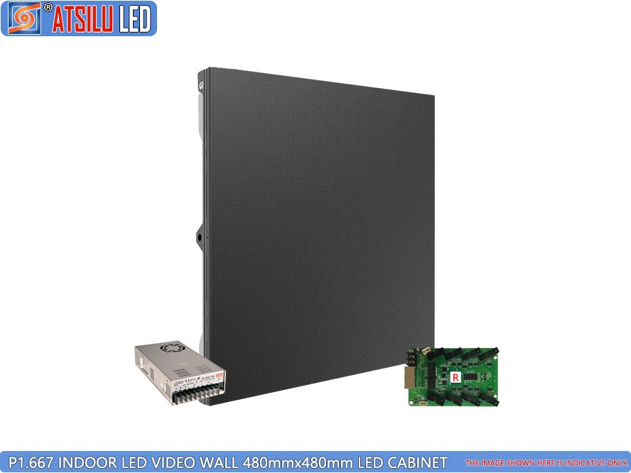 P1.667mm Indoor LED Video Wall LED-kast