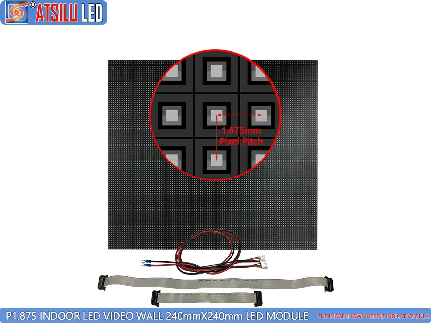 P1.875mm Indoor LED Video Wall LED Module