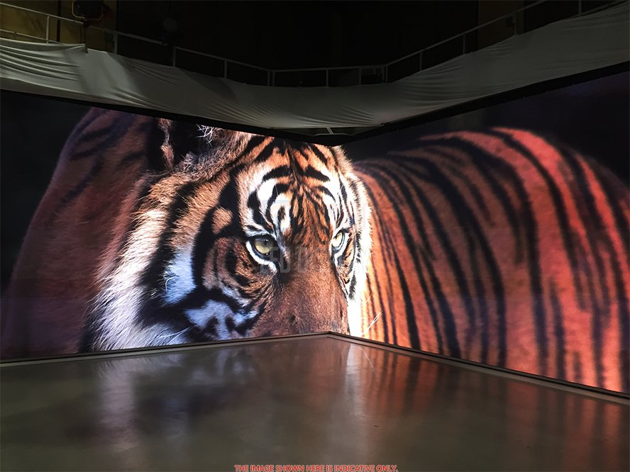 P1.667mm Indoor LED Video Wall High Refresh Indoor hoge resolutie LED videoweergave