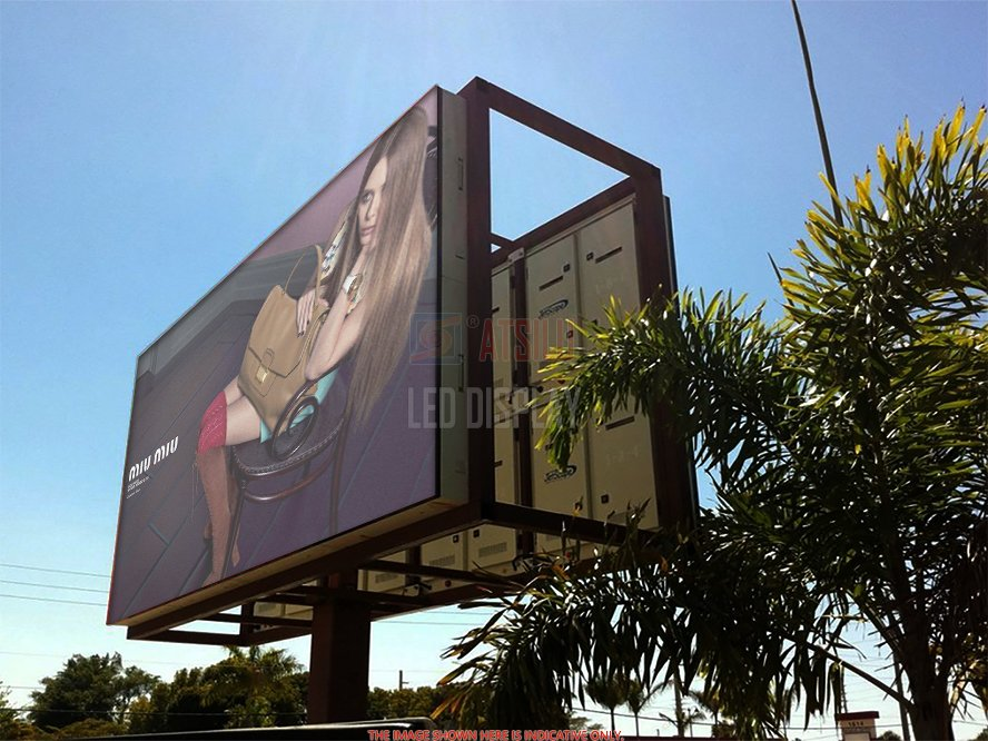 P10mm DIP346 Outdoor LED Display Konsumsi Daya Rendah Kualitas Tinggi LED Display Panel