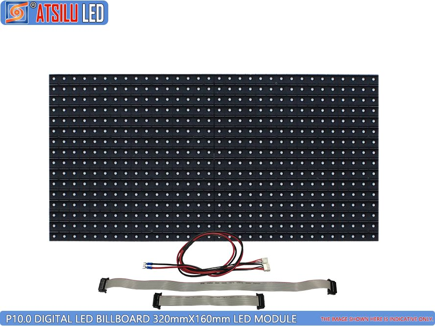 P10mm Digital LED Billboard LED Module