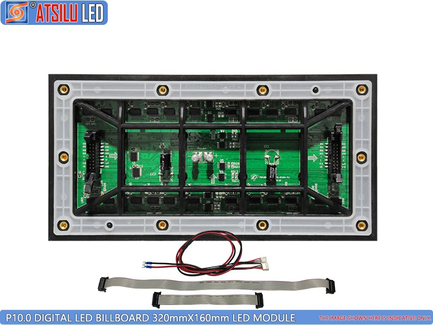 P10mm LED-module voor digitale video-billboard