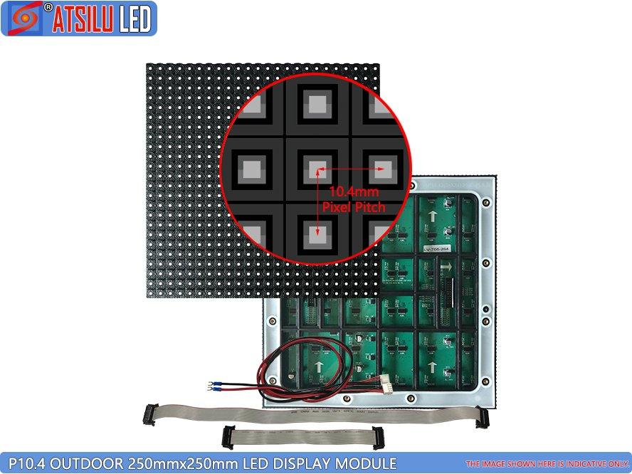 P10.4 মিমি ইনডোর LED ডিসপ্লে মডিউল