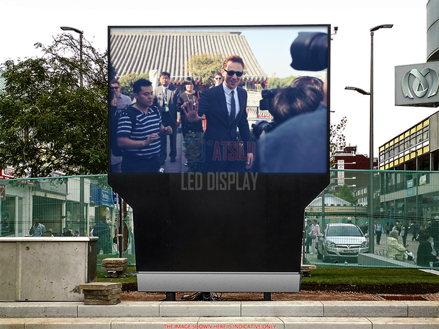 P10.4mm Outdoor LED Display Special Design For Fixed Outdoor Video Wall Installation