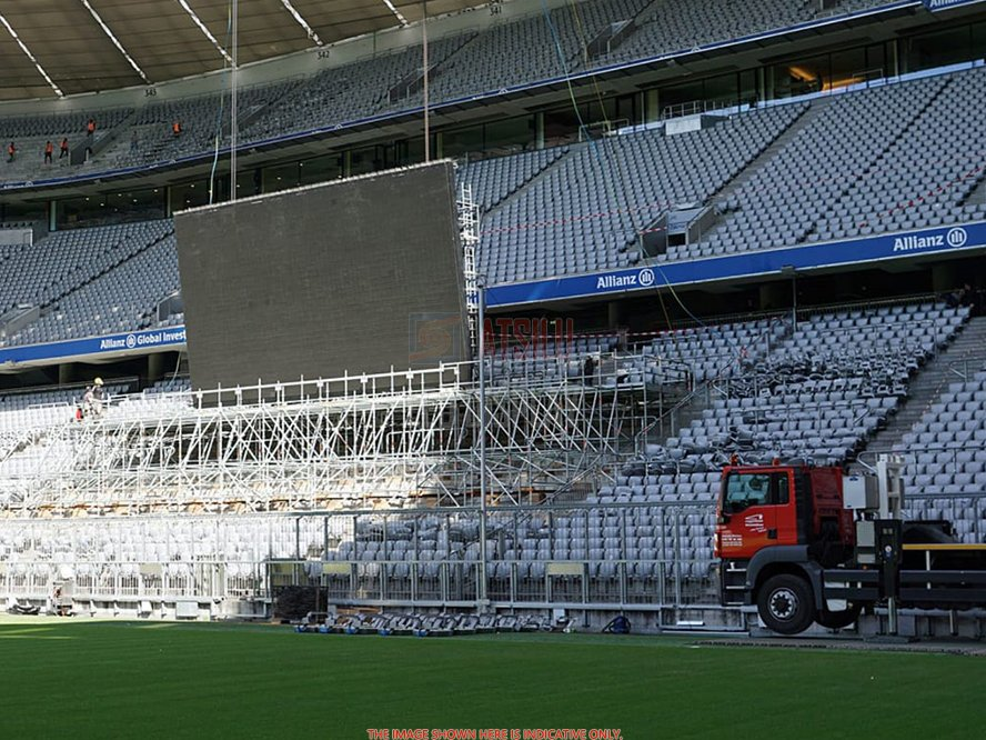 P10.4mm Stadion Adverteren Digitale videowall Display Sport Live-uitzending LED-videoscherm