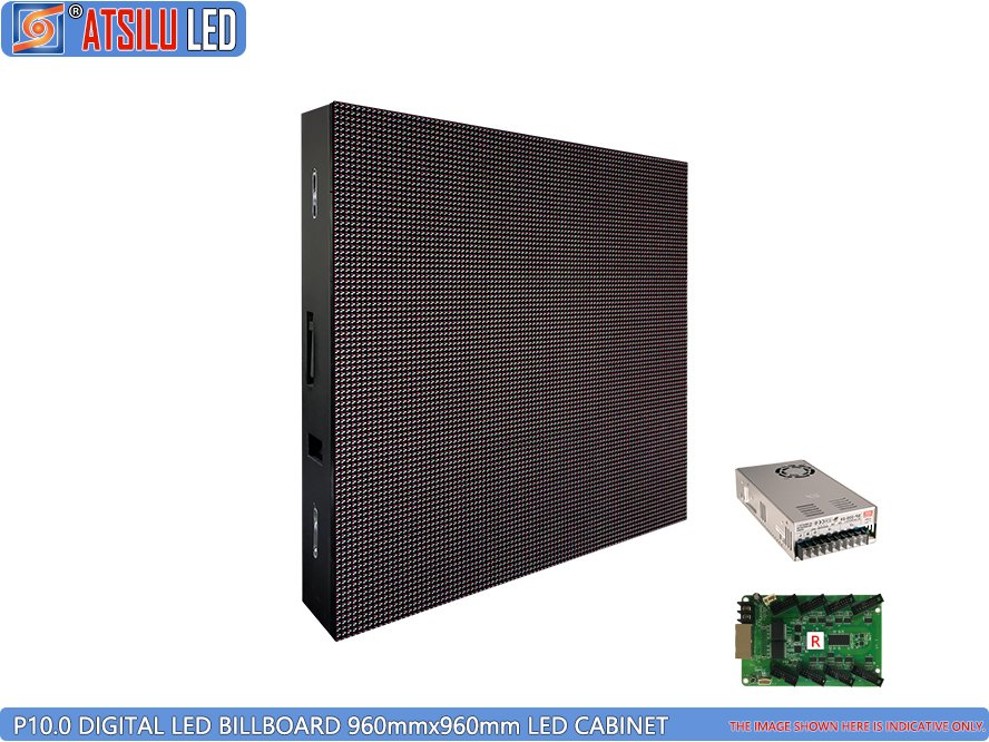 P10mm DIP346 LED Digital Billboard LED Cabinet