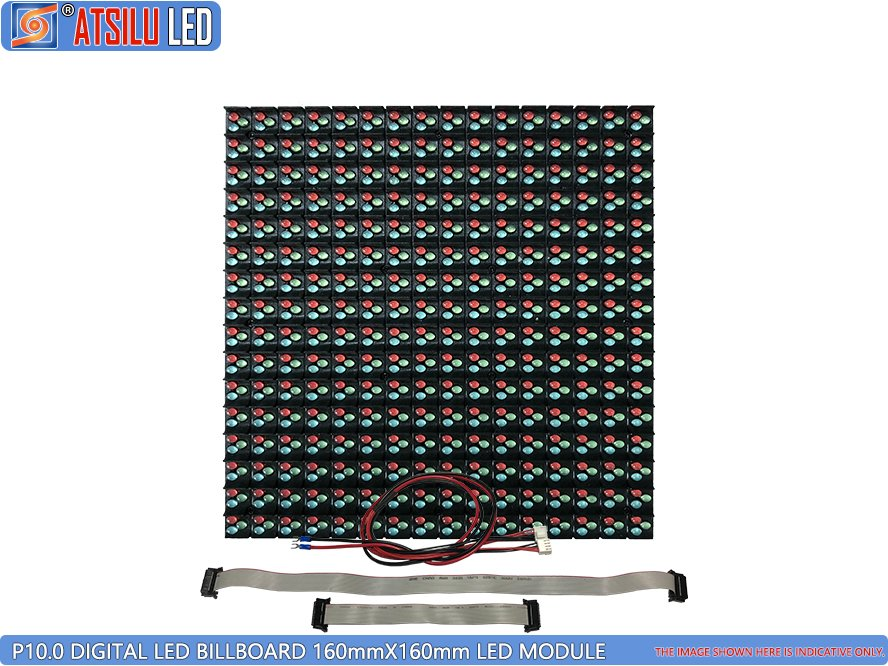 Módulo LED de quadro de avisos digital P10mm DIP346 LED
