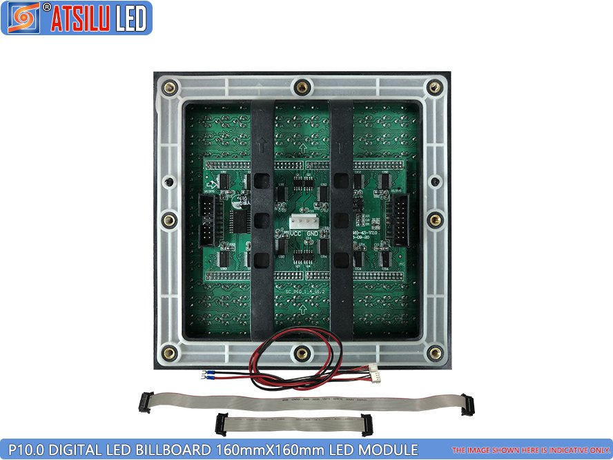 P10mm DIP346 LED Digitales Billboard LED-Modul