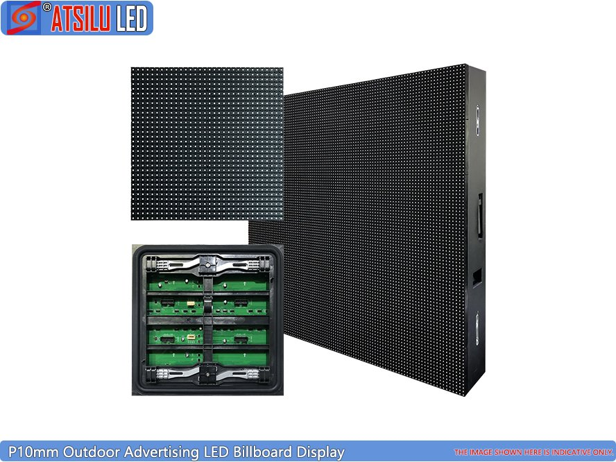 P10mm Outdoor Advertising LED Billboard Display