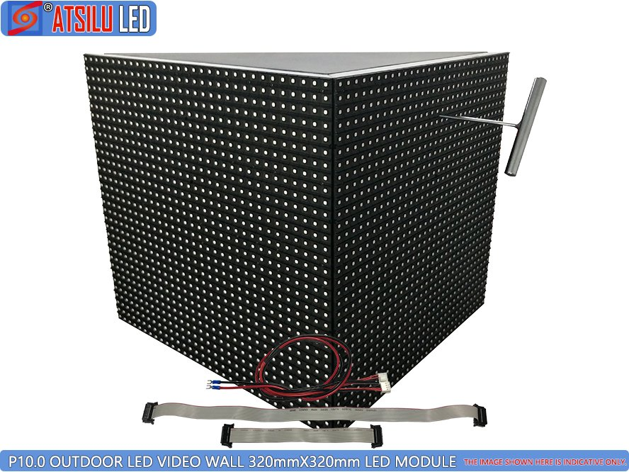 P10mm Outdoor LED Video Wall 45-stopniowy moduł LED