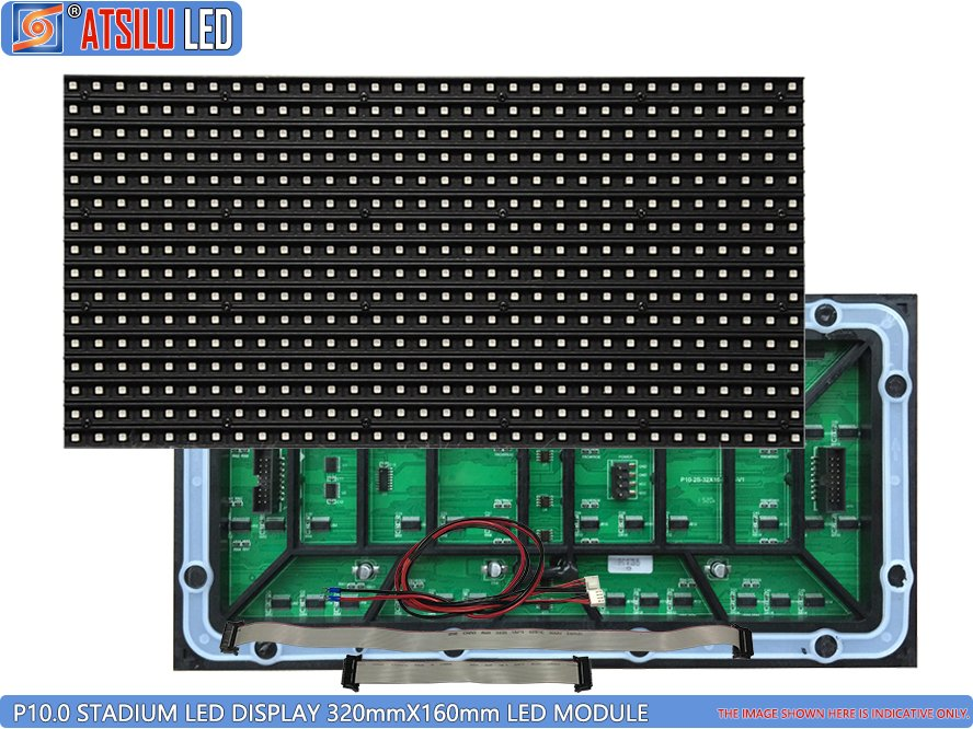 P10mm SMD3535 Stadium Perimeter LED Signage Display Module