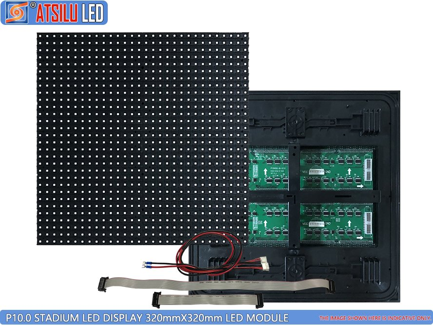 P10mm SMD3535 Stadium Perimeter LED Module
