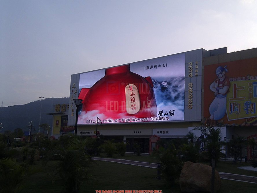 P10mm Front Maintenance LED Display High-Quality Flexible Curved Large Digital Billboard