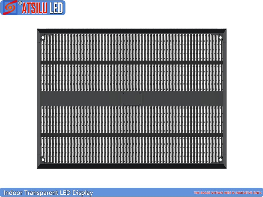 P12.4mm High Brightness Transparent LED Display Panel