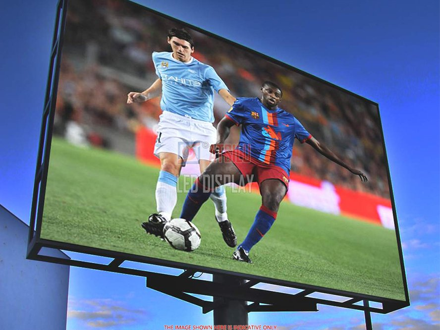 P16mm Outdoor LED-display Waterdichte grootformaat LED-reclamevideo-display