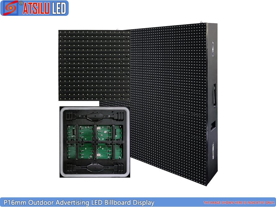 P16mm Front Maintenance Advertising LED Billboard Display