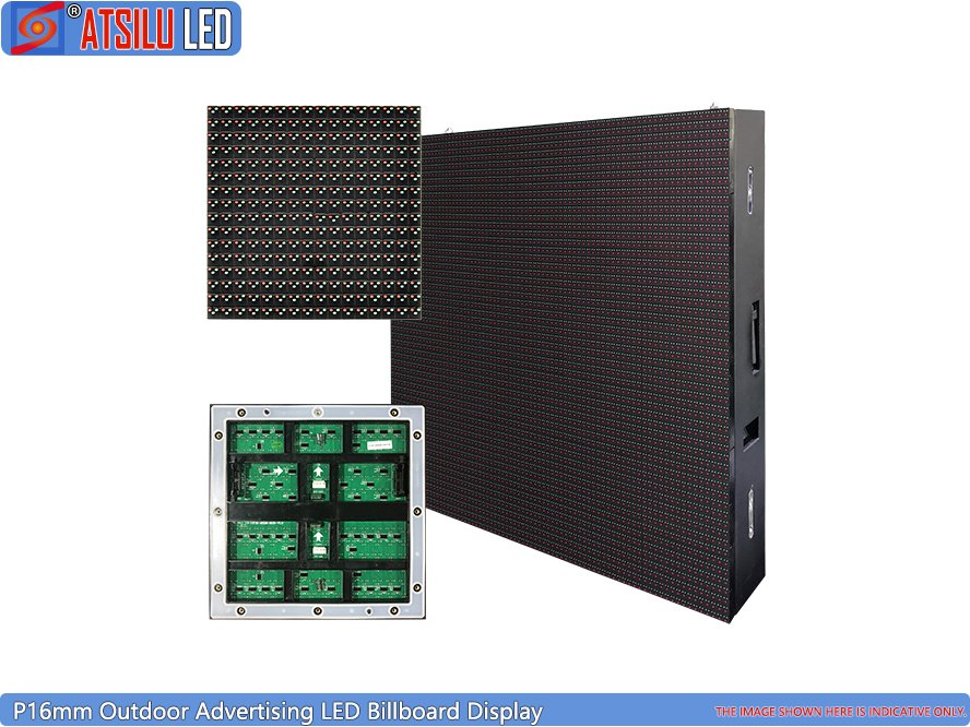 P16mm Outdoor Advertising LED Display