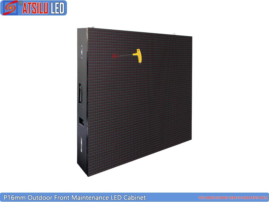 Wyświetlacz LED P16mm Outdoor Front Maintenance DIP LED Cabinet