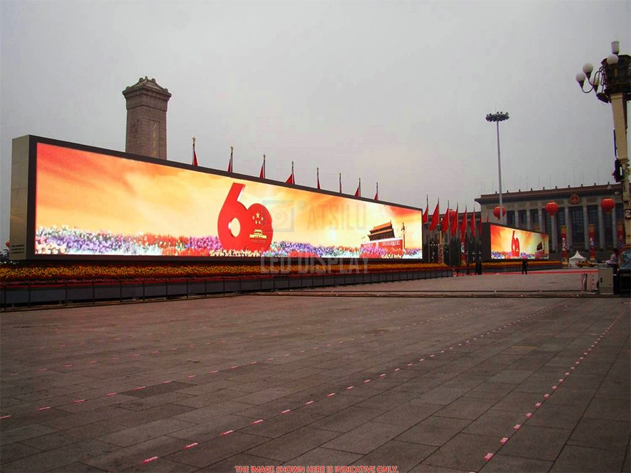 P16mm DIP346 Outdoor LED Display High Brightness Digital Advertising LED Billboard