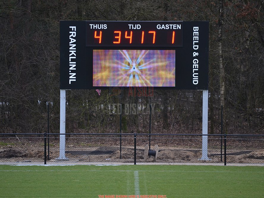 P16mm DIP346 Stadium Perimeter LED advertising Display Sports Field Ground Stand LED Banner Screen