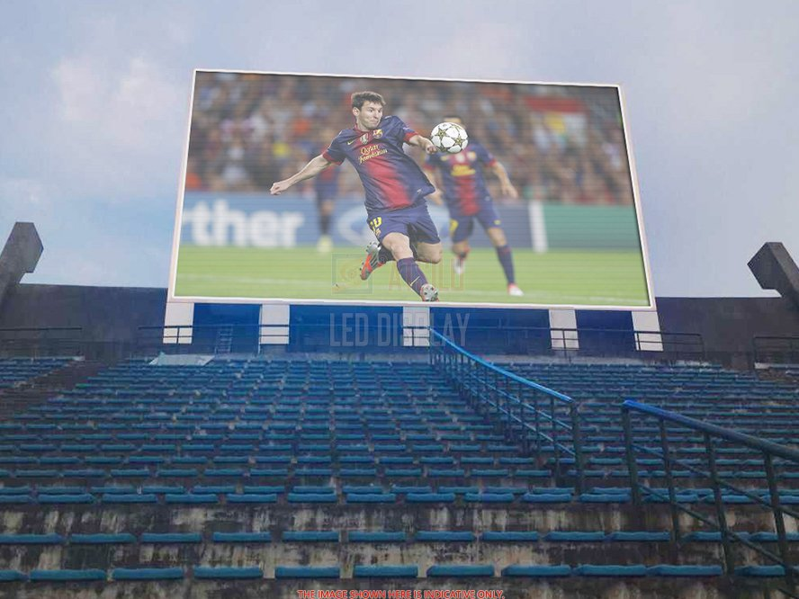 P16mm SMD3535 Sports Stadium Perimeter LED Display Cost-Saving Arena LED Banner Screen