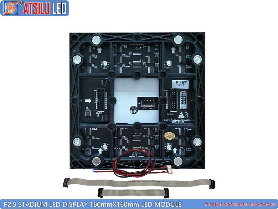 P2.5mm स्टेडियम स्पोर्ट एलईडी वॉल स्क्रीन एलईडी मॉड्यूल