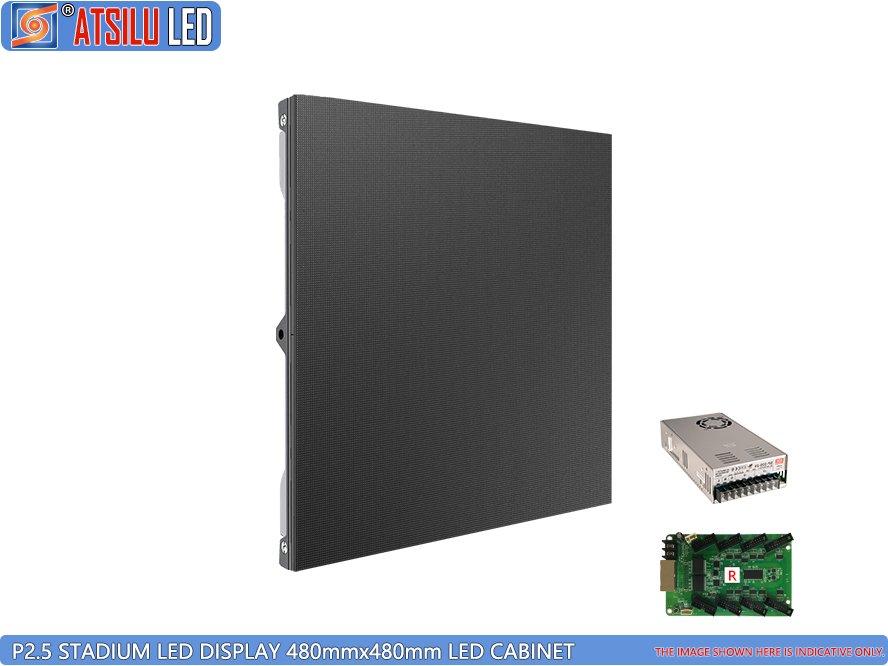P2.5mm स्टेडियम स्पोर्ट एलईडी वॉल स्क्रीन एलईडी पैनल