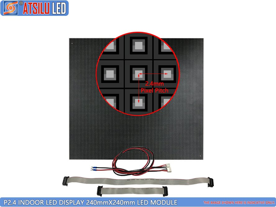 Módulo de LED de Display de LED Indoor P2.4mm