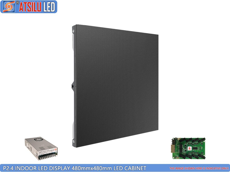 Pantalla LED para interiores P2.4mm Gabinete LED