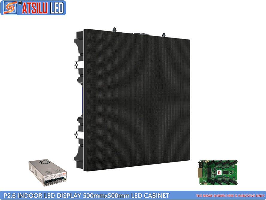 P2.6mm Indoor LED Video Display Cabinet