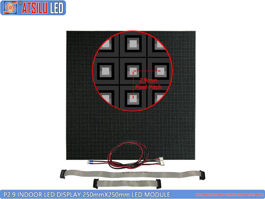 P2.9mm Black SMD Indoor LED Display LED Module