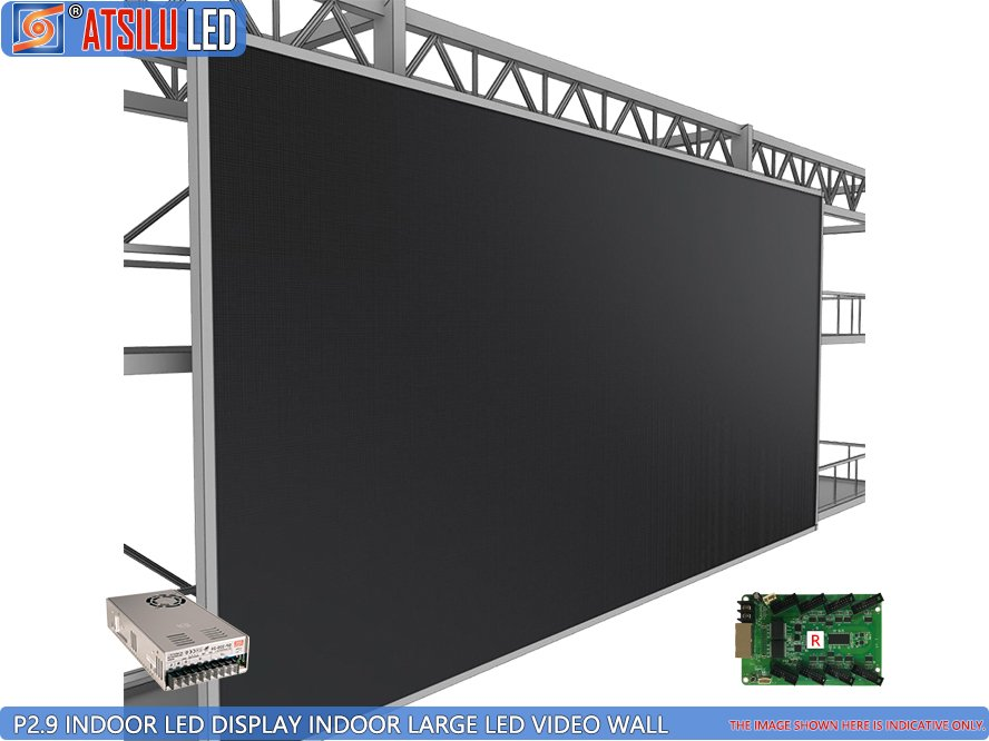 P2.9mm Black SMD Indoor LED Display Video Wall