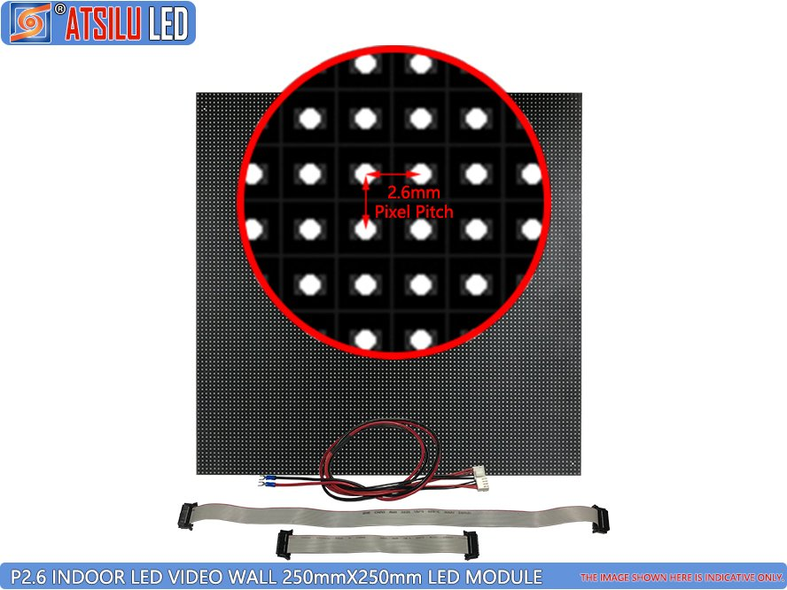 P2.6mm Indoor High-Definition LED Video Wall LED Module