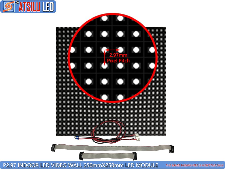 P2.97mm High-Quality Indoor LED Video Wall LED Module