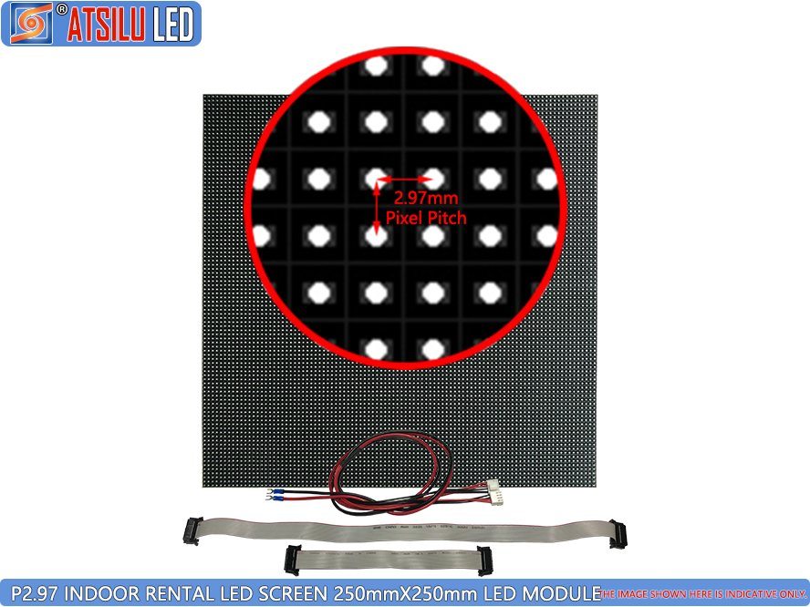 P2.9mm Indoor HD Miet-LED-Bildschirm LED-Modul