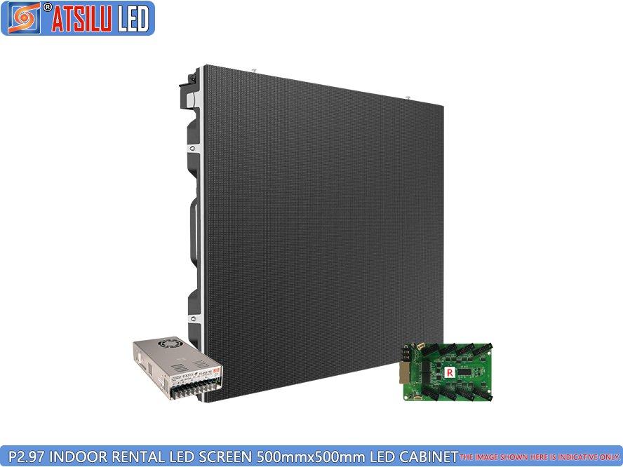 P2.9mm ইন্ডোর এইচডি ভাড়া LED স্ক্রিন LED মন্ত্রিপরিষদ