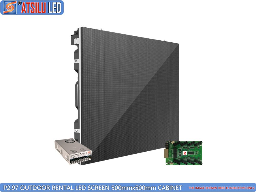 P2.97mm Outdoor Rental LED Screen LED Cabinet