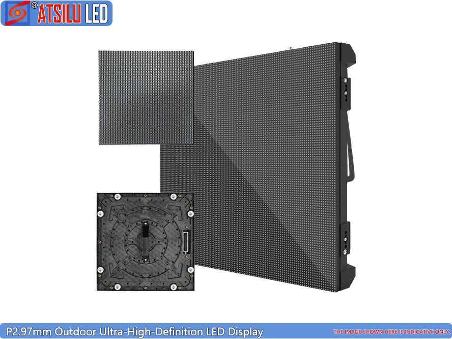 Outdoor High-Definition LED Display Video Wall P2.97 UHD